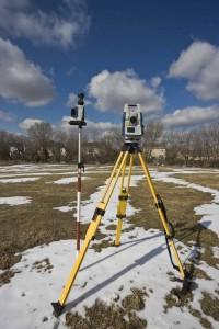 геодезические изыскания зимой, топосъемка зимой, инженерно геодезические изыскания